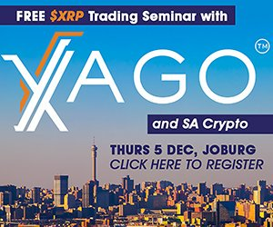 XAGO XRP south Africa event