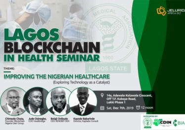 Lagos Blockchain in health seminar report